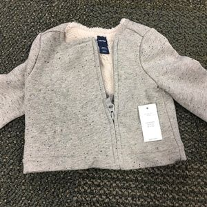 babyGap Gap Infant Baby Girls Zip Jacket NWT 3-6M